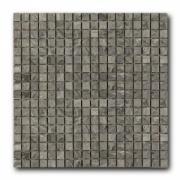 Мозаика из натурального камня Art&Natura Marble Mosaic Bardiglio Extra (плитка 15x15 мм), лист 305x305 мм (0,47 м2/упак.)