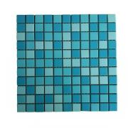 Мозаика керамическая Aquaviva E25B01 (k3478 / k3477 / k4298), матовая, 25 x 25 x 5 мм, лист 300 x 300 мм, цвет голубой