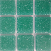 JNJ mosaic Мозаика стеклянная однотонная JNJ HG Mosaic 20x20, 327х327 мм A76