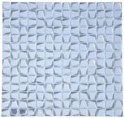 Мозаика стеклянная Alchimia Titanio trapezio 20х20х6 (306х306х6) (шт.)
