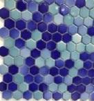 СЕРАБЕЛЛА - Шестигранная VERSICOLOR 2,65 SERAPOOL /бирюза - темно-синий/, м2