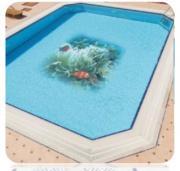Панно из фарфоровой мозайки SERAPOOL 5х5 см, м2