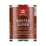 Антикоррозийный грунт tikkurila rostex super красно-коричнев. 1 л 27319
