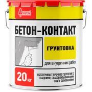 Грунтовка акриловая Старатели Бетон-Контакт 20 кг