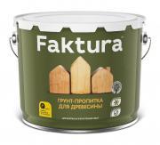 Грунтовка Faktura грунт-пропитка для дерева на орг.основе с защитой от биопоражения, для вн/нар. работ (0,7л)
