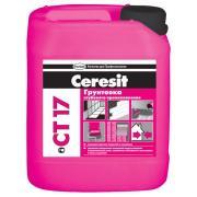 Грунтовка Ceresit CT 17/10 универсальная морозостойкая 10 л