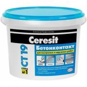 Грунтовка ceresit бетоноконтакт ct 19 зима 5 кг 1/120 208289