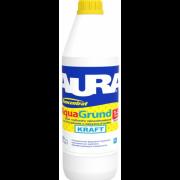 Грунт глубокого проникновения для наружных и внутренних работ Aura Koncentrat Aqua Grund Kraft (Аура Концентрат Аква Грунт Крафт) 10л