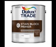 Грунтовка Dulux STAIN BLOCK PLUS для блокировки старых пятен, белая (2,5л)