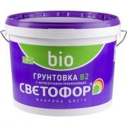 Концентрированная грунтовка с антисептиком светофор b2 10кг зор00008847