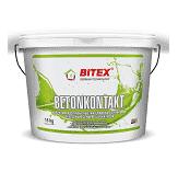 Грунтовка универсальная Bitex Betonkontakt c кварцевым наполнителем влагостойкая 15 кг