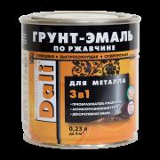 Грунт-эмаль по ржавчине 3в1 гладкая DALI