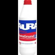 Грунт- влагоизолятор для внутренних и наружных работ Aura Koncentrat Beto Grund (Аура Концентрат Бето Грунт) 10л