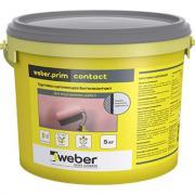 weber.vetonit Грунтовка сцепляющая weber.prim contact 5 кг