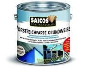 Белая грунтовка для предварительной окраски Saicos Vorstreichfarbe grundweiss - 7050 Белый, 0.75 л, : SAICOS