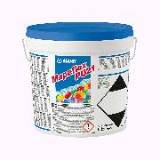 MAPEFLEX PU21, самовыравнивающийся двухкомпонентный полиуретановый герметик для заполнения швов в полах с расширением до 5%, черный