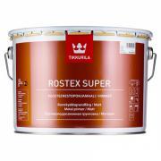 Грунтовка tikkurila rostex super для металла противокоррозийная, матовая, светло серый 1л 675540010