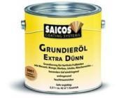 Масляная грунтовка для древесины Saicos (Сайкос) Grundierol Extra Dunn - 3008 Черный (прозрачный), 0.75 л, Производитель: SAICOS