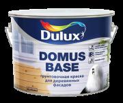 Грунтовка Dulux DOMUS BASE. краска для дер. фасадов, масляная, мат, белый (10л)