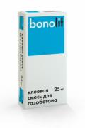 Клей для пеноблоков, газосиликатных, газобетонных, пенобетонных блоков 25кг. BONOLIT