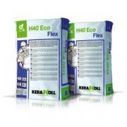 Клей Kerakoll H40 Eco Flex для плитки, высокопрочный, минеральный, эко-совместимый, цвет Серый, 25 кг Kerakoll H40 Eco Flex