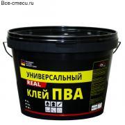 """Клей ПВА универсальный БС-737 """"REAL"""" (5 кг)"""