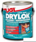 UGL Гидроизоляционная краска DRYLOK® MASONRY WATERPROOFER Белая 0,964л