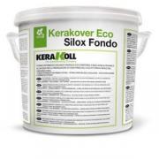 Краска Kerakoll Kerakover Eco Silox Fondo на водной основе, минеральная, цвет Белый, 14 л