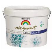 Краска для потолков Beckers Elegant 2 Takfarg / Беккерс Элегант Такфарг глубокоматовая