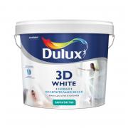 Краска Dulux белая 3D бархатистая 5 л