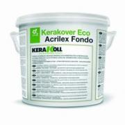 Краска Kerakoll Kerakover Eco Acrilex Fondo, органическая акриловая водная, 14 л