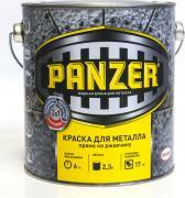 """Краска эмалевая молотковая """"Panzer"""", для металла, цвет: коричневый (8028), 2,3 л"""