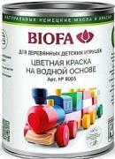 8005 Краска для деревянных игрушек BIOFA (Биофа) - 0.125 л, Производитель: Biofa