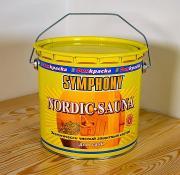Защитный состав для саун «Nordic Sauna» SYMPHONY на акрилатной основе 2,7 л.