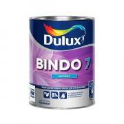 Краска DULUX BINDO 7 для стен и потолков износостойкая матовая белая 1 л