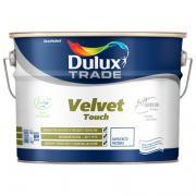 Краска Dulux Velvet Touch для стен и потолков матовая BW 10 л