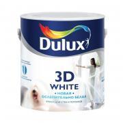 Краска DULUX белая 3D матовая 2,5 л