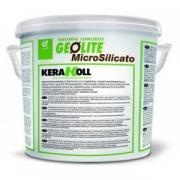 Геокраска минеральная Kerakoll Geolite Microsilicato для восстановления, укрепления и защиты бетона, цвет Coloured A, 14 л