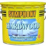 Лак яхтный Symphony Hardwood глянцевый 9 л