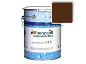 Лак фасадный Rhenocoll Impragnierlasur 52S c защитой от синевы, тик, шелковисто-глянцевый 1л