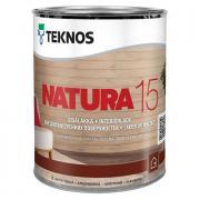 Лак акриловый TEKNOS Natura 15 п/мат 0,9л
