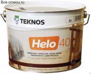 Teknos Helo Aqua 40 Полуглянцевый водоразбавляемый специальный лак (банка 9л)