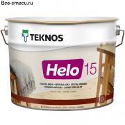 Teknos Helo 15 Полиурентовый лак матовая (банка 9л)