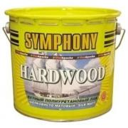 Лак яхтный Symphony Hardwood шелковисто-матовый 9 л