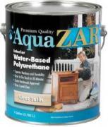 UGL AQUA Zar Полиуретановый лак на водной основе глянцевый. 0,946 литра.