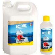 Лак для паркета двухкомпонентный ADESIV (Адезив) ICE 5+0,5 л (матовый)
