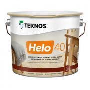 Лак полиуретановый TEKNOS Хело 40 полуглянцевый 0,9л