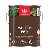 Tikkurila Valtti Pro,Сверхпрочная защитная глянцевая лазурь,Орех,2,7л