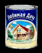Защитно-декоративное покрытие для древесины Любимая Дача, 9 л груша