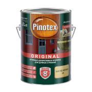 Pinotex Original, кроющая противогрибковая пропитка для защиты древесины с воском,база BW,2,7л